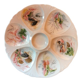 Limoges Oyster Plate For Sale
