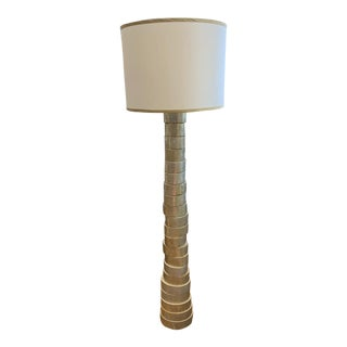 Jamie Young Stacked Floor Lamp For Sale