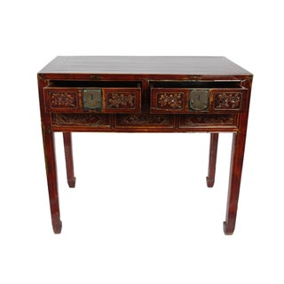 Hand Carved Chinese Antique Desk Preview