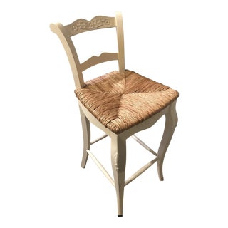 Boho Chic Wooden Tall Bar Stool