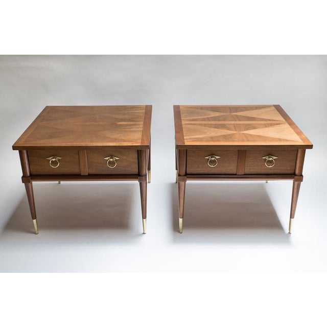 American of Martinsville Side Tables - A Pair - Image 2 of 8
