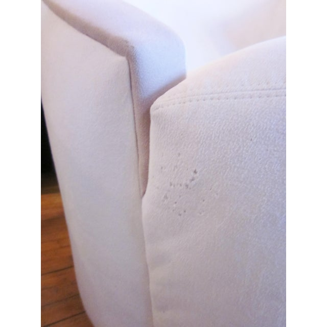 1980s Vintage Vladimir Kagan Nautilus Swivel Chairs- A Pair For Sale - Image 10 of 12