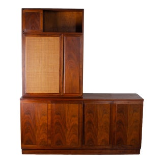 Jack Cartwright for Founders Credenza and Hutch For Sale