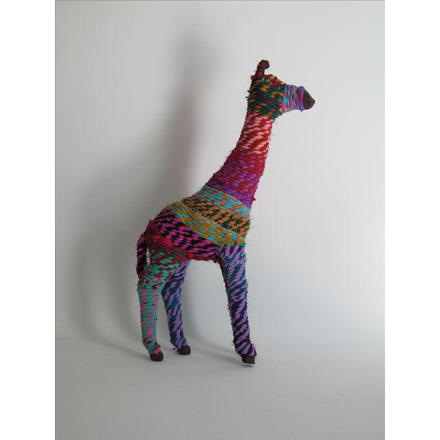 Boho Indian Chindi Giraffe - Image 2 of 7