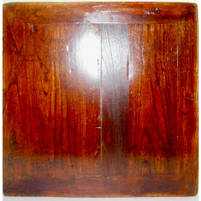 """Antique Elmwood Chinese Ming """"Kang""""/Coffee Table For Sale - Image 9 of 9"""