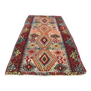 Vintage Gorgeous Turkish Kilim Rug