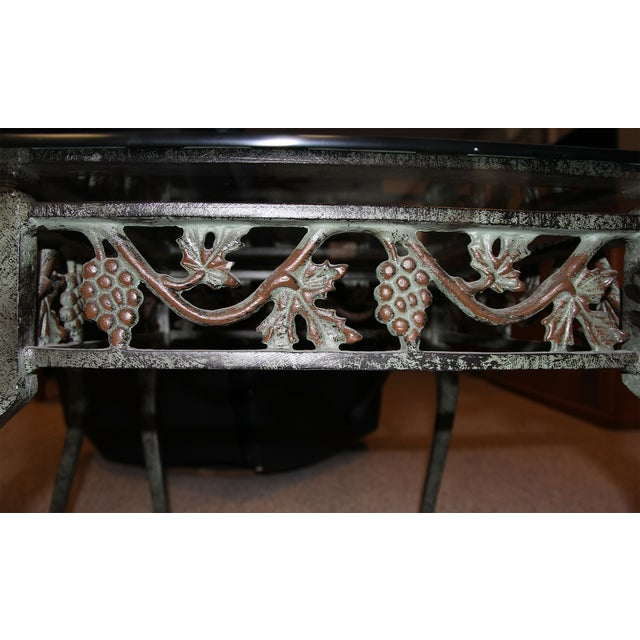 Iron and Glass Side Tables - A Pair - Image 4 of 4