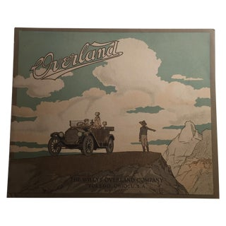 1920s Overland Jeep Willys-Overland Co. Print