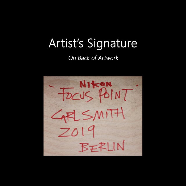 """""""Focus Point"""" Original Artwork by Carl Smith For Sale - Image 9 of 10"""