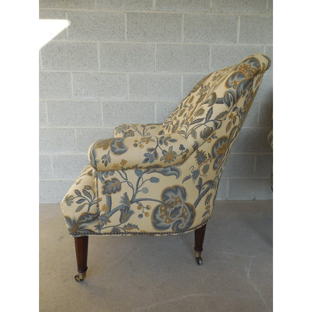 Kravet Furniture Regency Style Accent Club Chairs - A Pair - Image 9 of 11