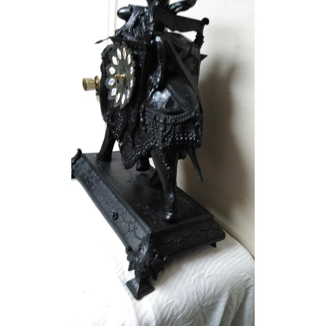 Egyptian Revival Mantel Clock - Image 5 of 11