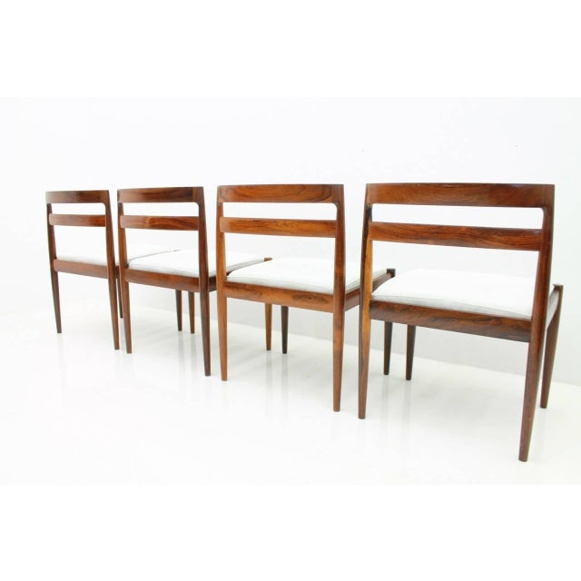 "Kai Kristiansen Dining Chairs ""Universe 301"" for Magnus Olesen Denmark 1960s For Sale - Image 10 of 13"