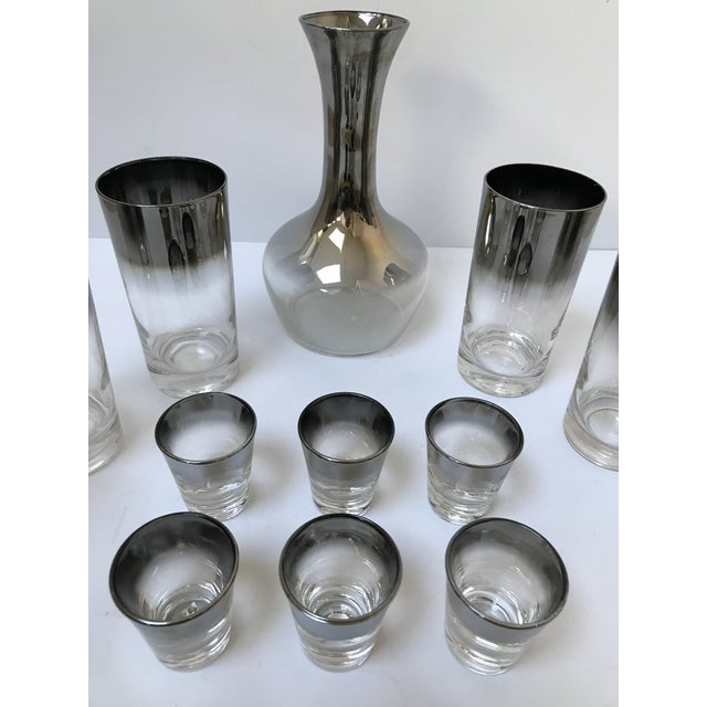 Dorothy Thorpe Style Glasses, Decanter & Shot Glasses - Set of 13 - Image 3 of 6