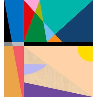 19 Color Modern Abstract Fine Art Print by Tony Curry For Sale