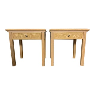 1980s Traditional American by Martinsville Nightstands - a Pair For Sale