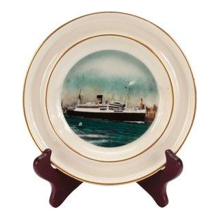 Moore-McCormack US-South America Passenger Ship Souvenir Dish Cachepot For Sale