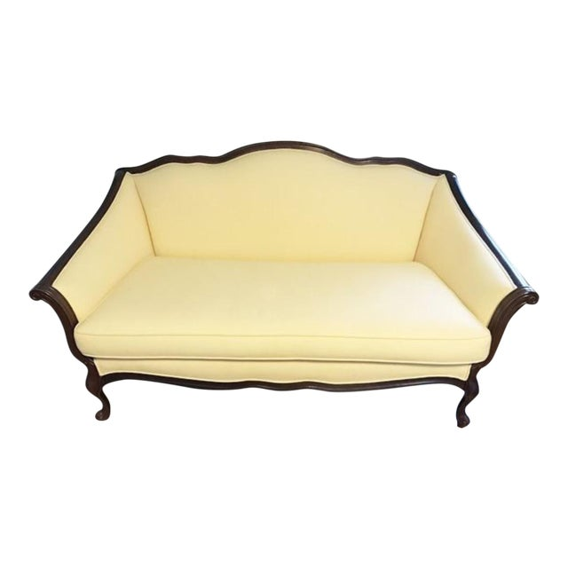 Vintage Bernhardt French Louis XV Style Settee For Sale