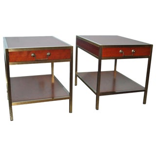 Pair of Scandinavian Night Tables For Sale