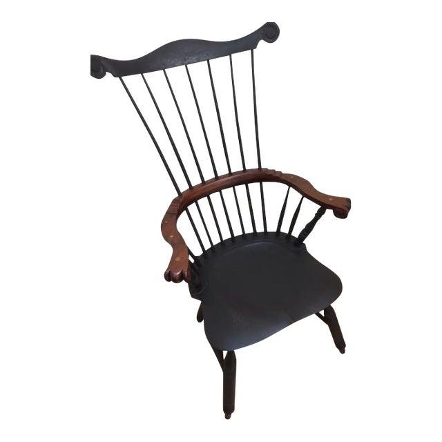 Philadelphia High-Back Windsor Chair For Sale