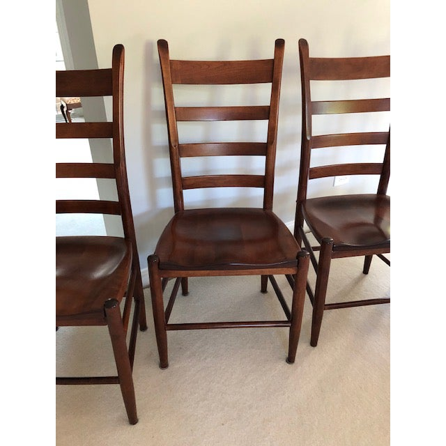 2000 - 2009 Nichols and Stone Side Chairs- Set of 4 For Sale - Image 5 of 11