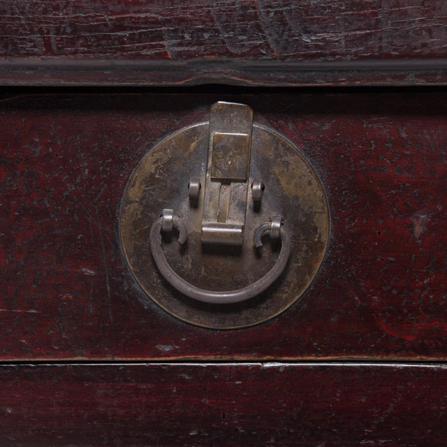 3 Drawer 2 Door Chinese Coffer For Sale - Image 10 of 11