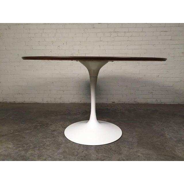Burke Mid-Century Modern Tulip Based Dining Table - Image 5 of 6