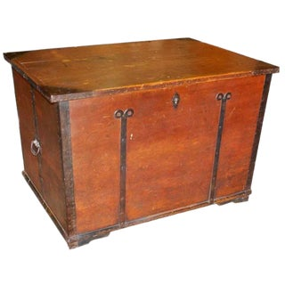 Large Hope Chest Blanket Box For Sale