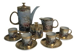 Image of Canary Yellow Coffee and Tea Service