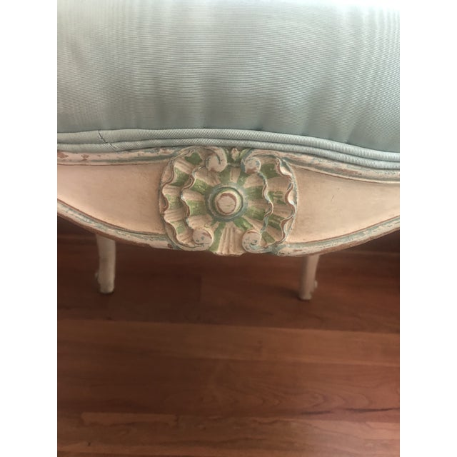 French Circa 1920 Louis XV Style Settee For Sale In Washington DC - Image 6 of 8