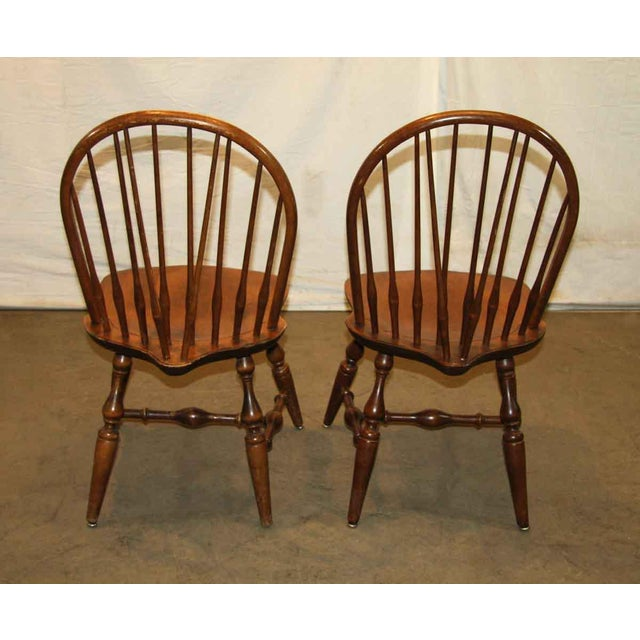 Antique Windsor Wooden Chair For Sale - Image 5 of 7