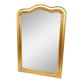 Louis Philippe Gold Gilt Mirror For Sale