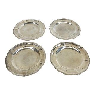 Vintage Sterling Dishes - Set of 4 For Sale