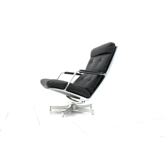 Black Lounge Chair by Fabricius & Kastholm for Kill International Fk 85 For Sale - Image 8 of 8