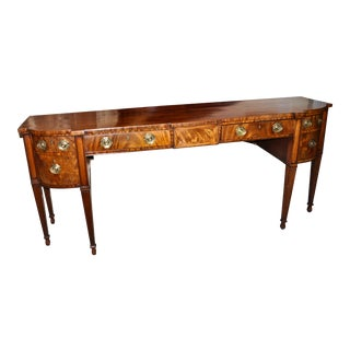 Early 19th C. Georgian Mahogany Sideboard For Sale