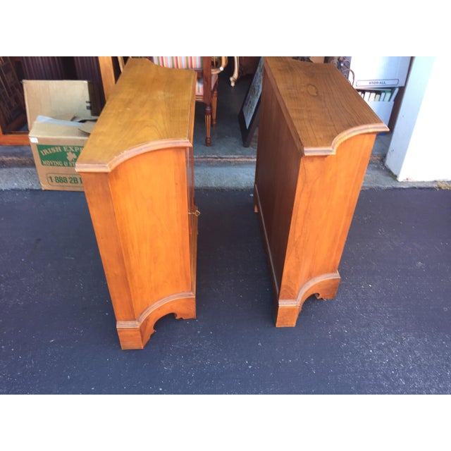 French Country Baker Furniture Chests a Pair For Sale - Image 3 of 11
