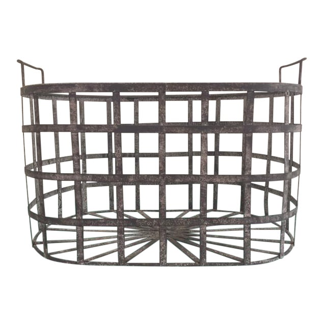 Vintage Zinc Basket - Image 1 of 8