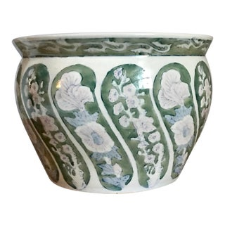 Late 20th Century Vintage Chinoiserie Planter For Sale