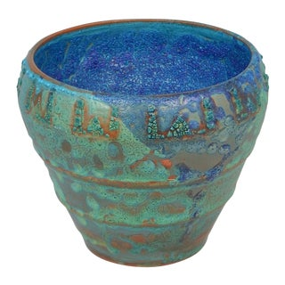 Relicware Ceramic Urn #90 by Andrew Wilder For Sale