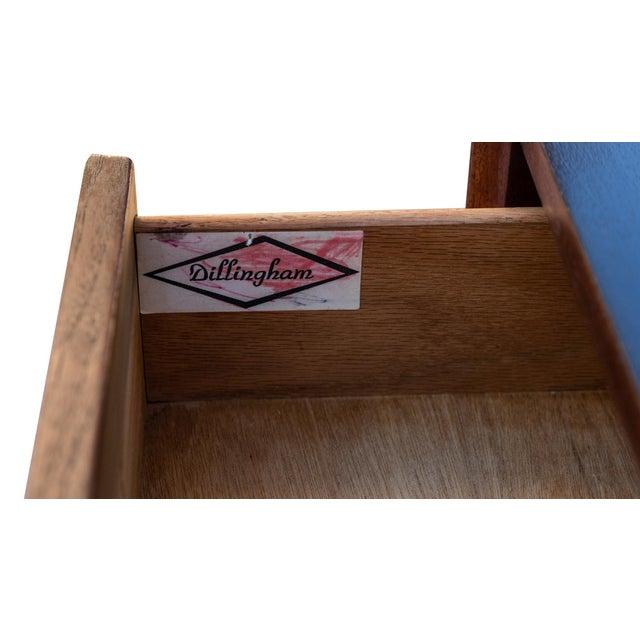 Brown Dillingham Esprit Walnut Dresser For Sale - Image 8 of 9
