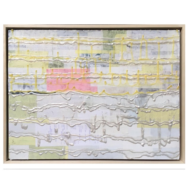 Abstract Mixed Media Painting by Kohl King - Image 1 of 2