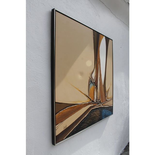 Abstract Vintage Abstract Composition by Christie For Sale - Image 3 of 11