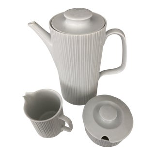 Rosenthal Studio Line by Tapio Wirkala Studio Line Coffee Service - Three Pieces For Sale