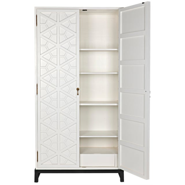 2010s Maharadshcha Hutch, Solid White For Sale - Image 5 of 10