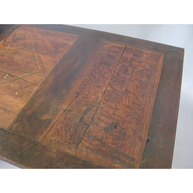 Brown Early 18th Century Italian Library Table For Sale - Image 8 of 9