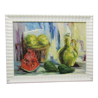 1990s Contemporary Original Still Life Painting For Sale