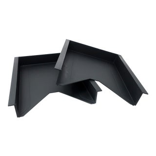 Pair of 1990s Letter Trays by Foster & Partners for Helit For Sale