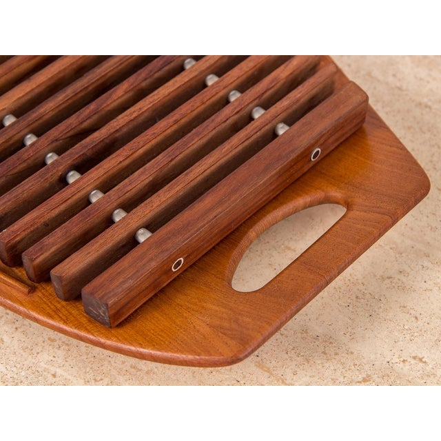 Dansk Serving Tray and Trivet Set by Jens Quistgaard - 2 pieces For Sale In New York - Image 6 of 8