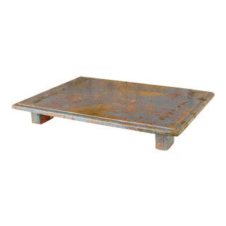 Painted Wooden Bajot Table For Sale