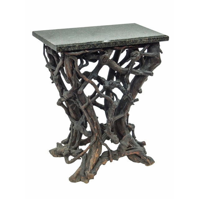 Wood Rare Twig Console For Sale - Image 7 of 13