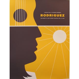 2013 American Concert Poster, Rodriguez For Sale
